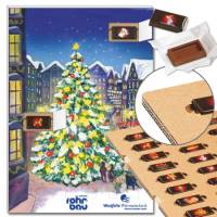 "Schoko-Adventskalender ""Stille Nacht"" mit ECO-Tray"
